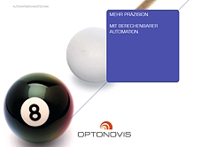 Cover OPTONOVIS-Leistungsbrosch¨re Automation